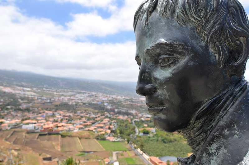 Skulptur Alexander von Humboldt