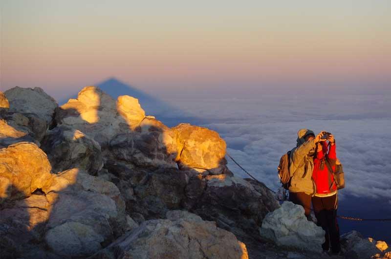 Sonnenaufgang Teide Inseltrekking