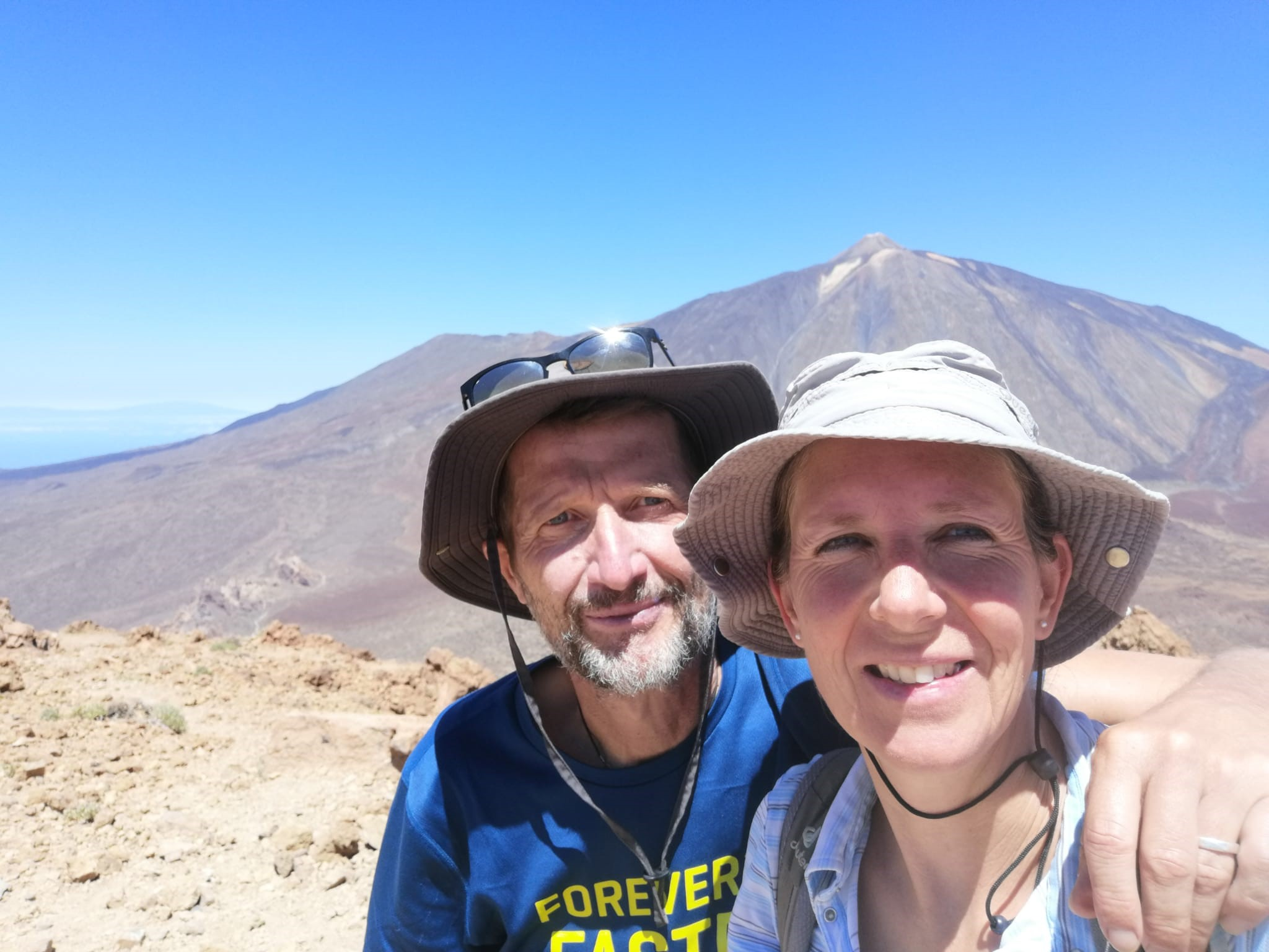 Guajara mit Teide-Gipfel