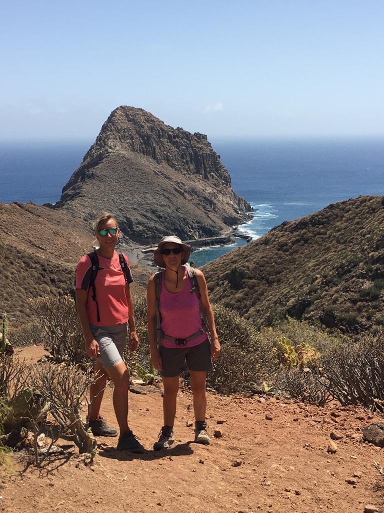 Blick zur Bucht Playa Antequera
