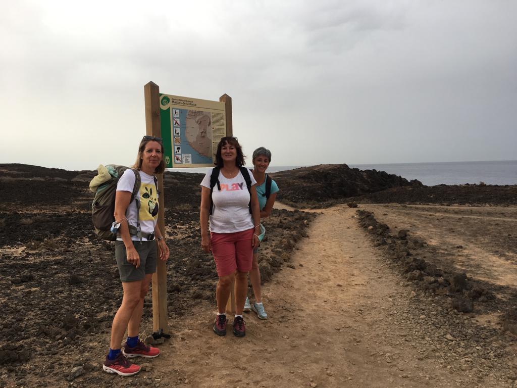Start Wanderung Palm-Mar