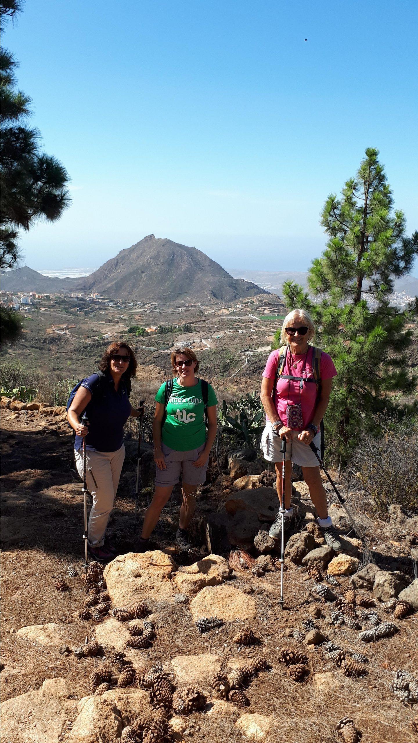Wanderung El Roque-Cho Pancho