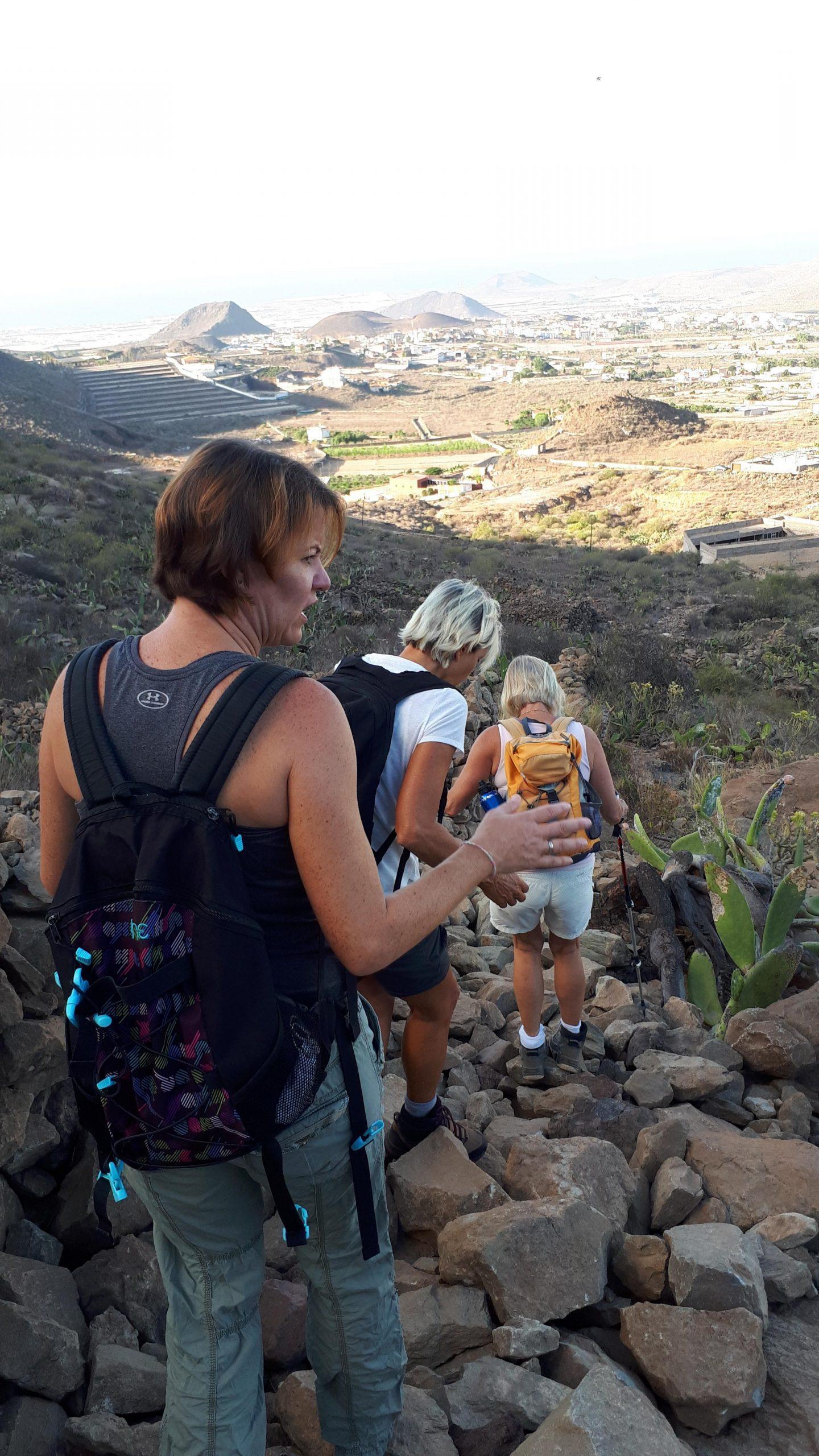 Abstieg von Valle San Lorenzo