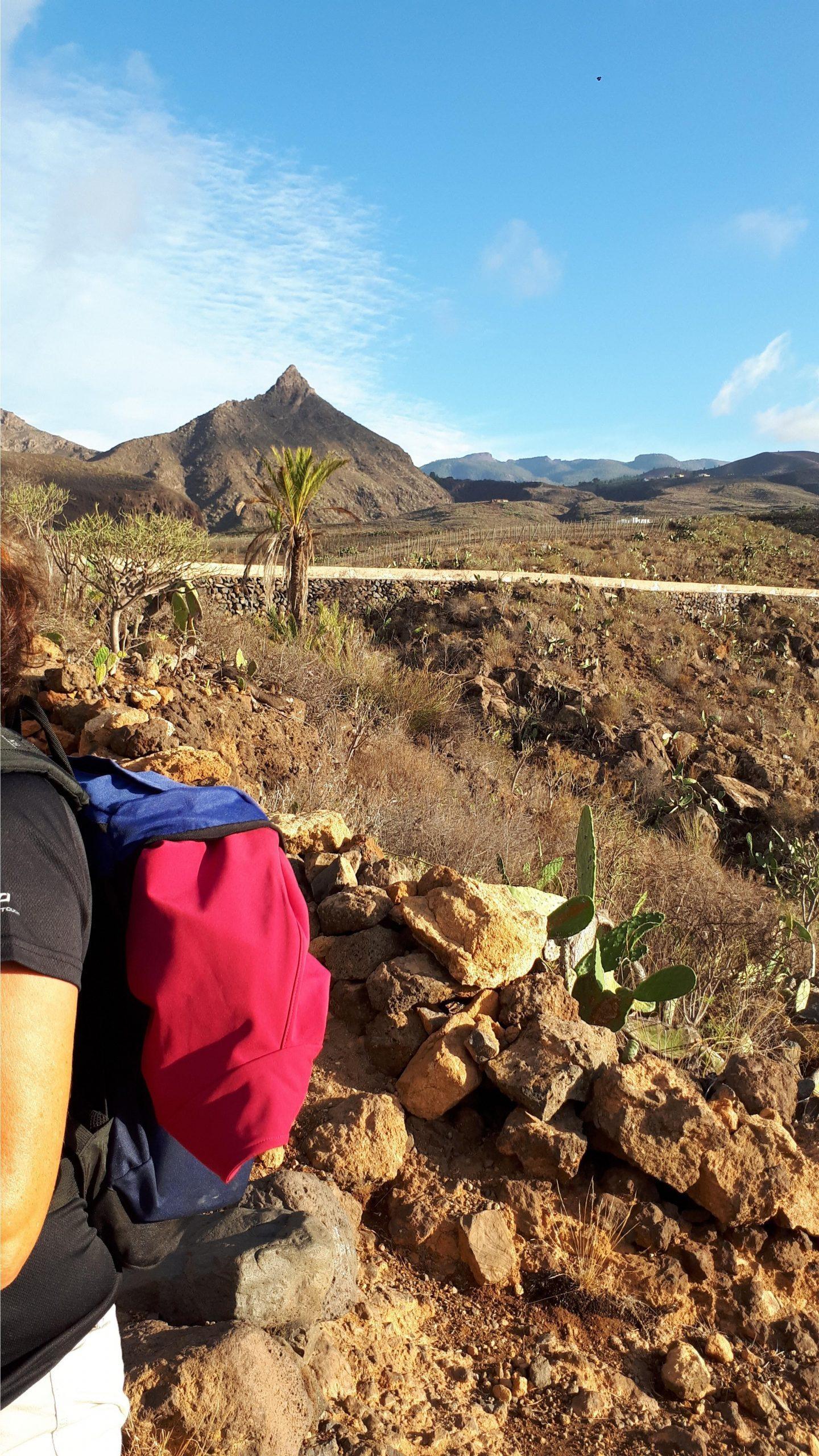 Start Wanderung Arona - Los Roques