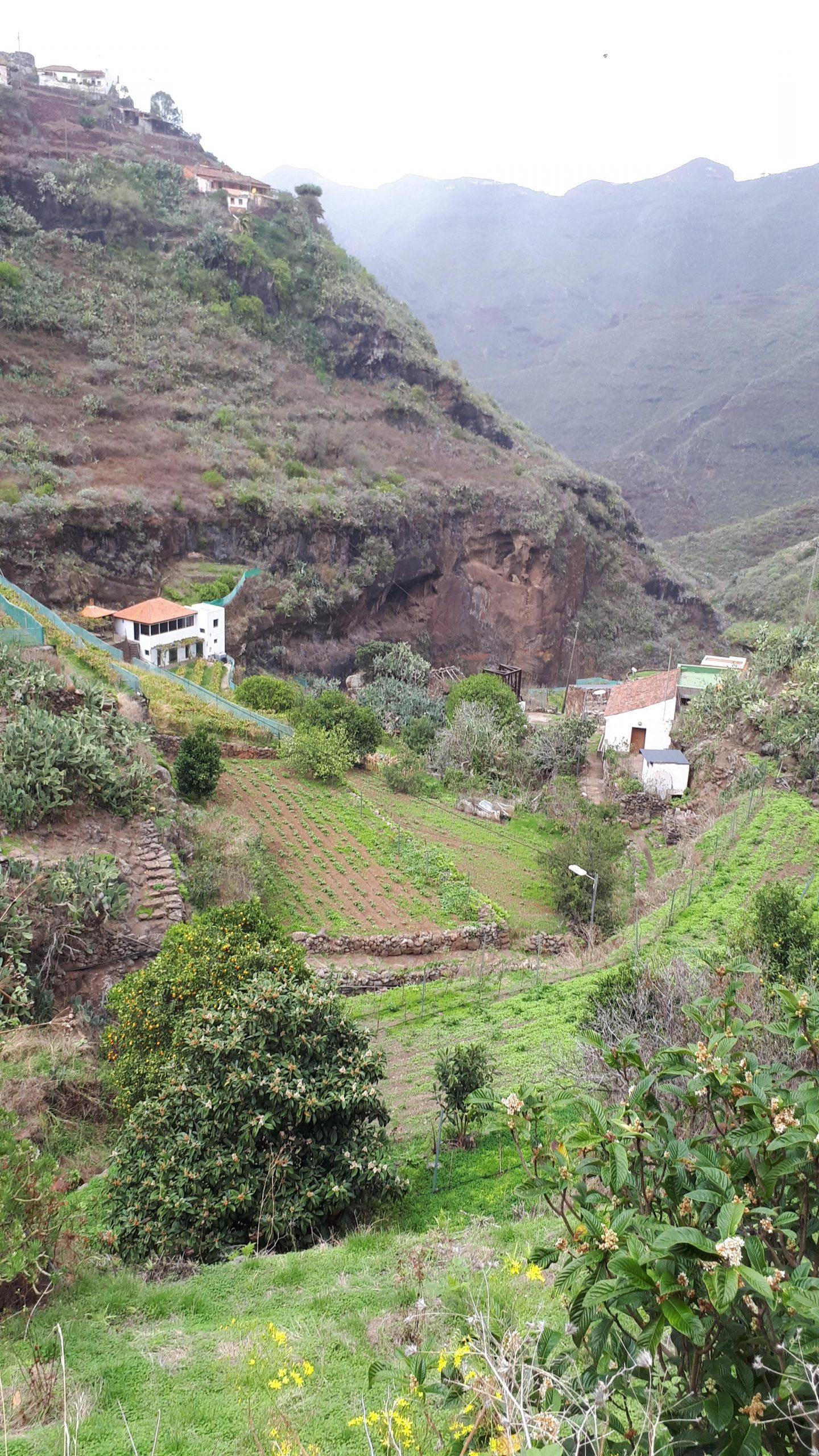 Wanderung nach El Batán