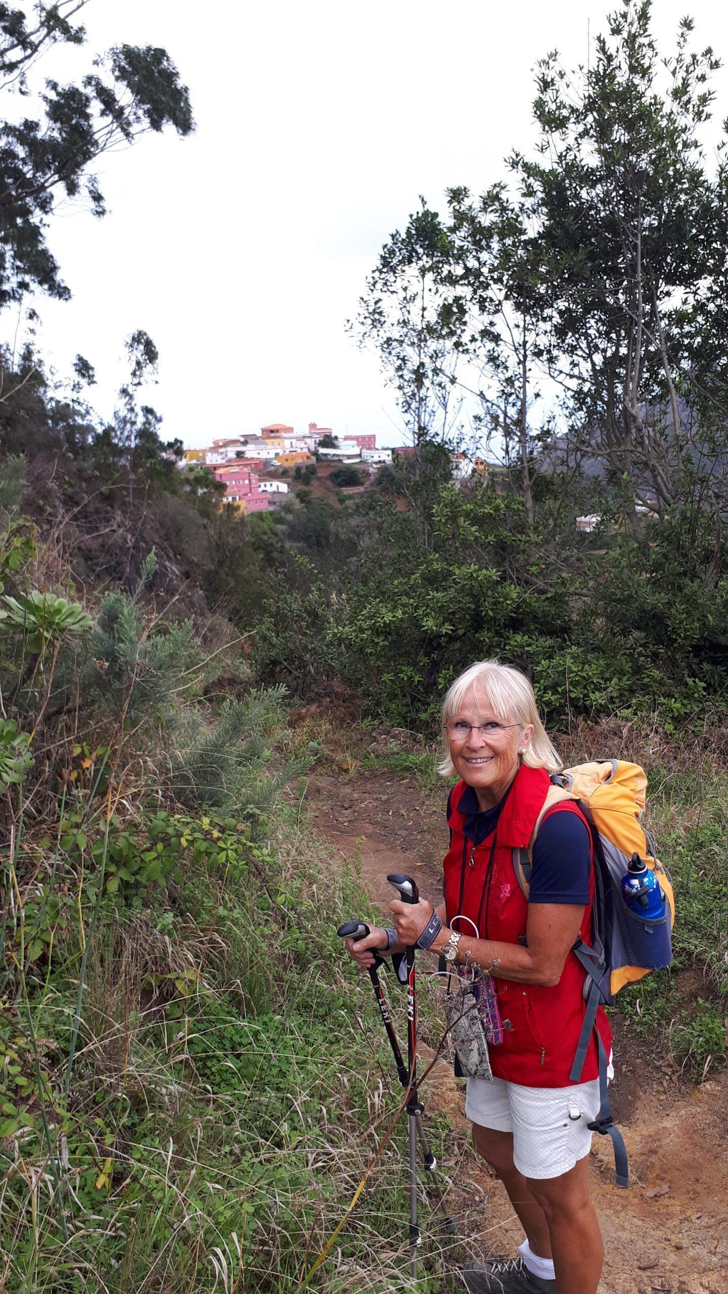 Start der Wanderung nach El Batán