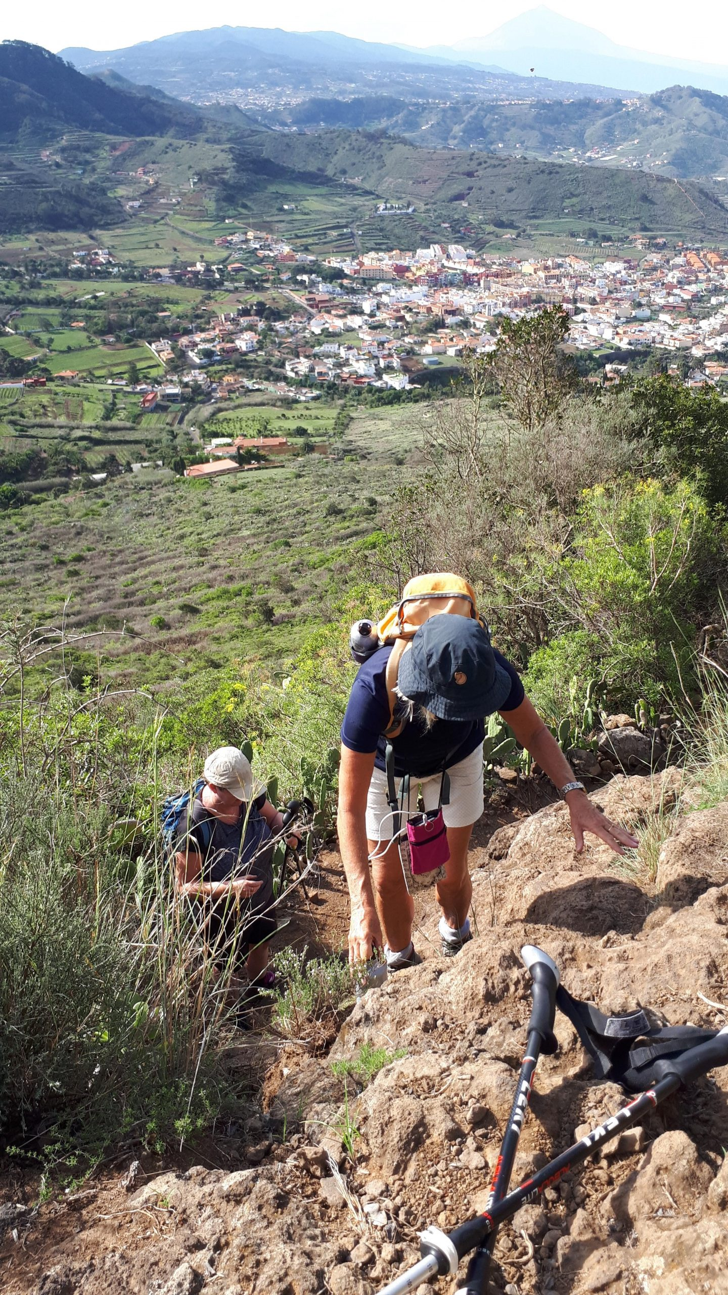Wanderung Tegueste Bajamar