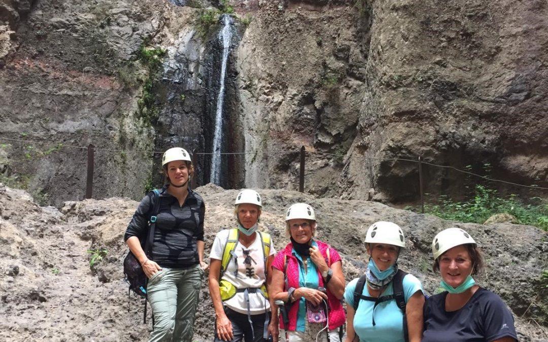 Wanderung Barranco del Infiérno