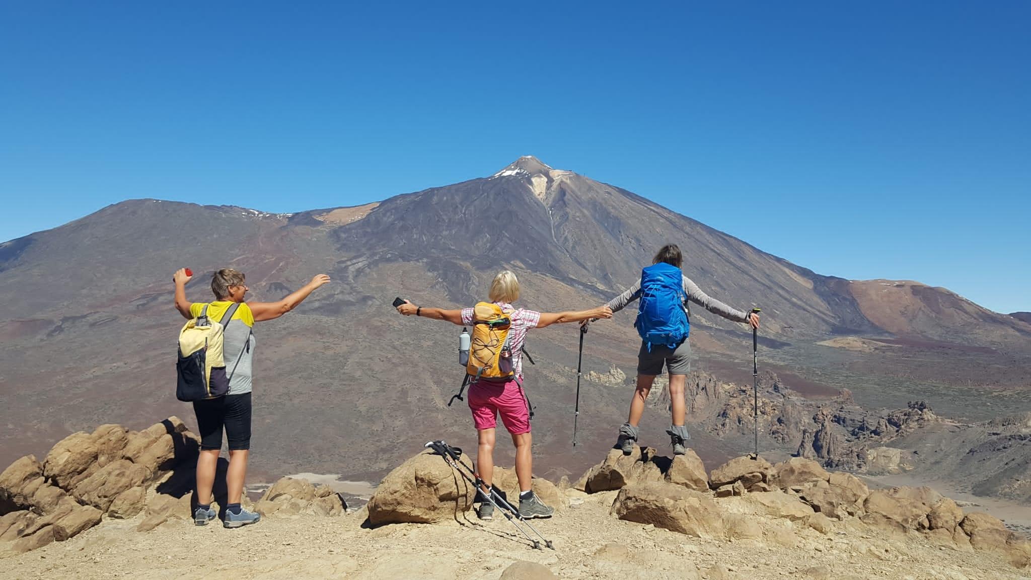 Vom Sombrero de Chasna zum Kraterrand