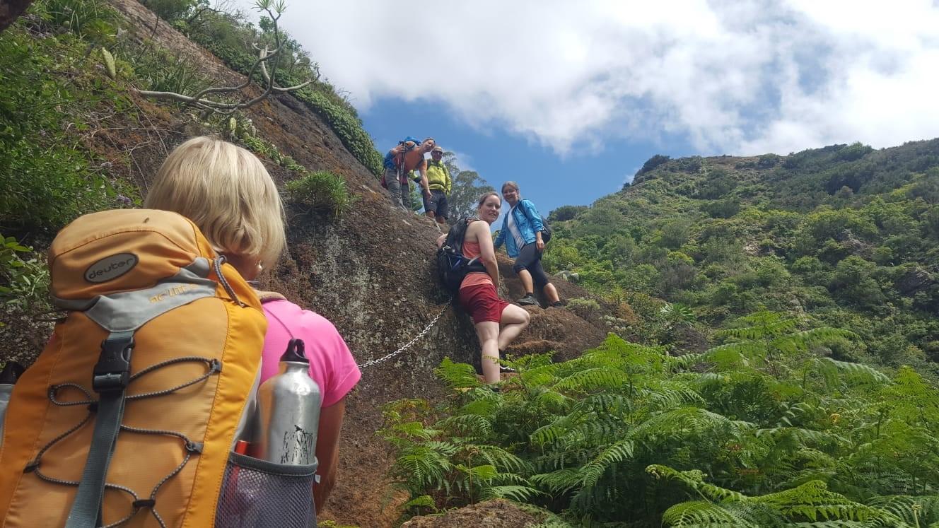 Wanderung Punta del Hildalgo nach Batán