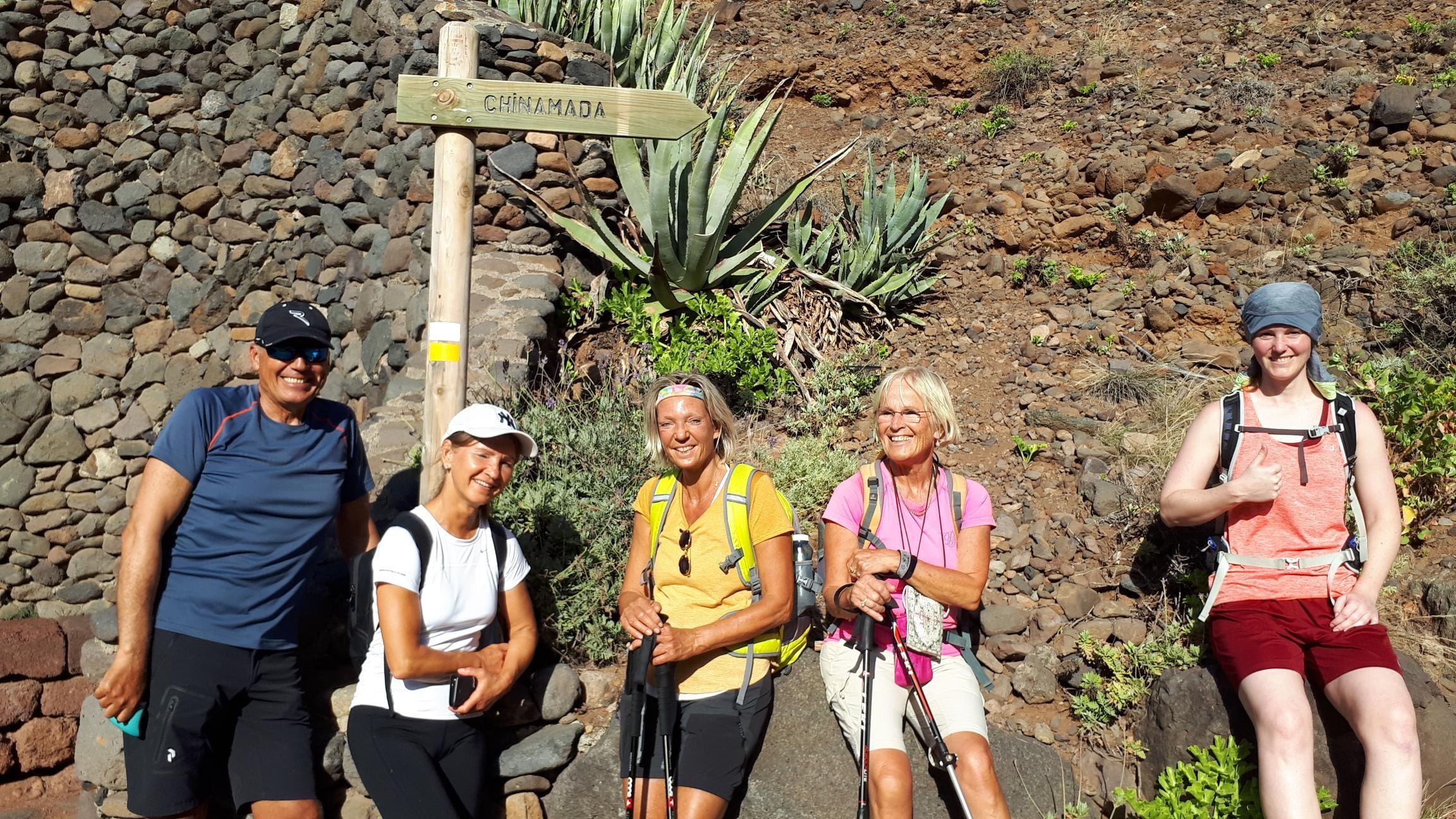Wandergruppe Punta del Hidalgo