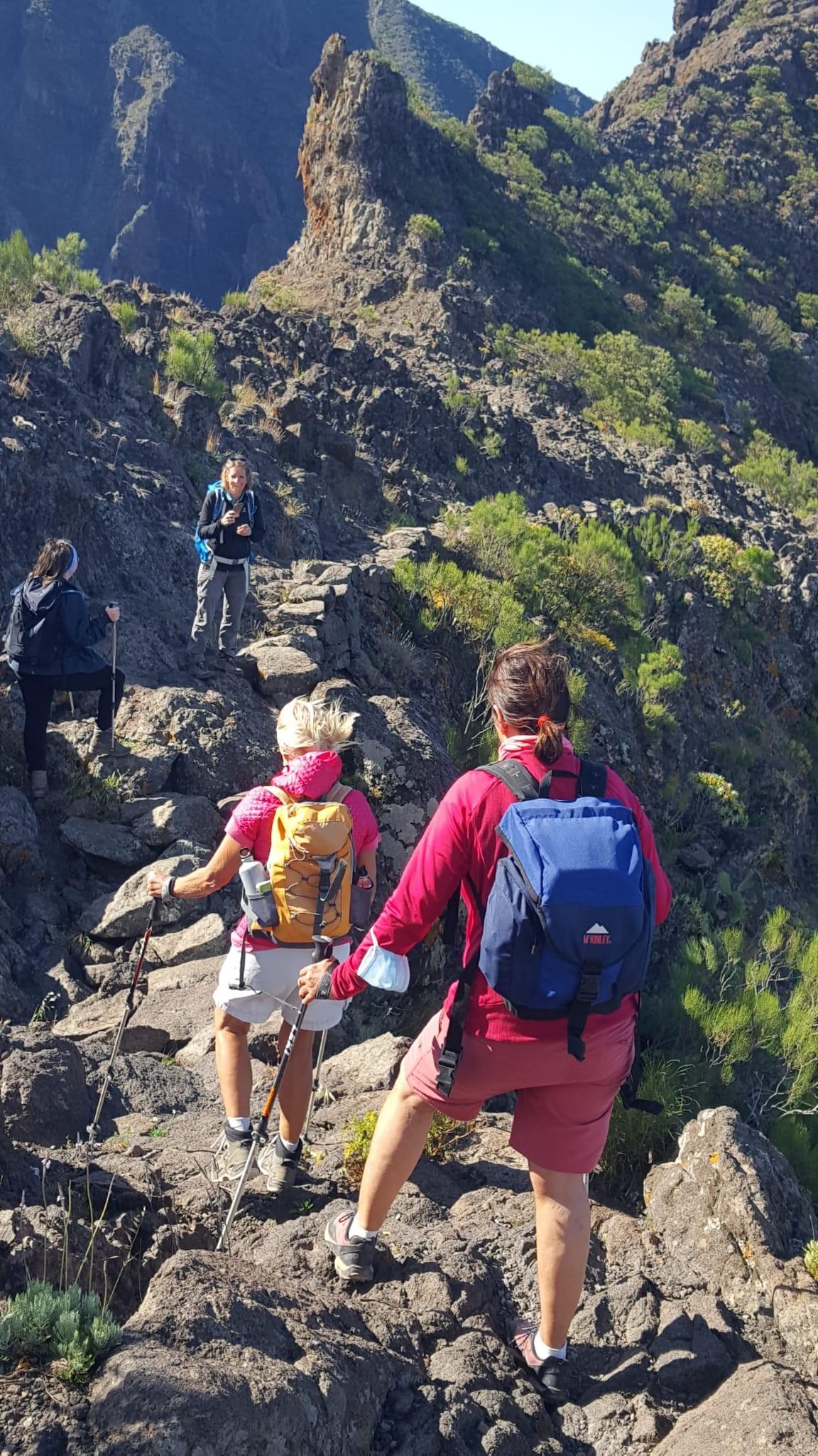 Höhenweg Cruz de Hilda